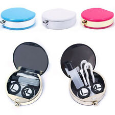 Travel Mini Contact Lens Kit Case Pocket Storage Holder Container Portable