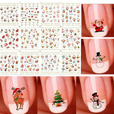 3D CHRISTMAS NAIL ART STICKER SNOWFLAKES SNOWMEN DECALS TIPS DECORATION SELLING