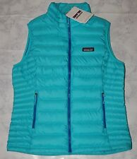 Patagonia Women's 800 Fill-Down Sweater Vest, 84628, Howling Turquoise, Size M