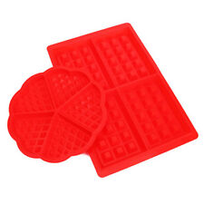 Mini Waffles Muffins Cake Chocolate Pan Bakeware Silicone Mold Kitchen Tray Tool