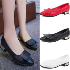 Women's Fashion Patent Leather Classic Round Toe Cute Bowknot Ballet Flats Shoes
