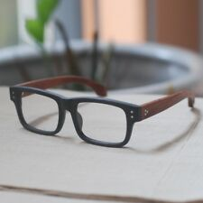 Retro vintage new wood eyeglasses frame men unisex RX-able optical eyewear 7226