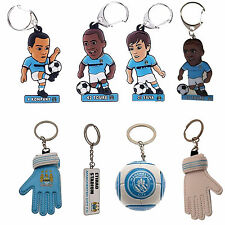Manchester City F.C Official Licensed Football Team KeyRing Design KeyChain Gift
