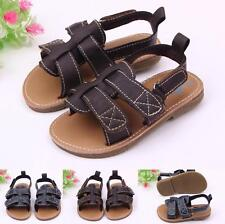 Infant Baby Boy Summer Newborn PU Leather Sandals 0-12M Toddler Shoes