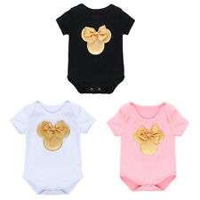 Cute Newborn Infant Baby Girl Minnie Romper Jumpsuit One-piece Clothes Outfit