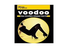 WOMENS 5 PACK VOODOO Firm Control Opaque Tights Stockings Shapewear School Work
