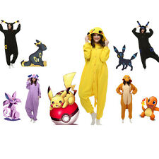 Adult-Pokemon-Unisex Pajamas Kigurumi Cosplay Costume Animal Onesie Sleepwear+