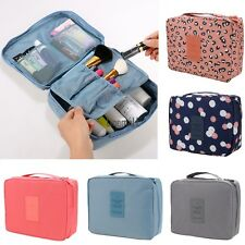 New Water-reaistant Nylon Travel Makeup Cosmetic Toiletry Case Bag Wash LM02