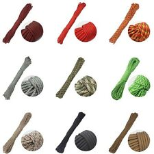 Paracord Parachute Cord Tied Rope Winding Handle Bundled Goods Feet Survival Set