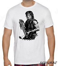t shirt Mens Womens  T-shirt the walking dead Daryl Dixon