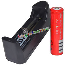 3.7V 18650 6800mAh Rechargeable Battery + AAA Charger