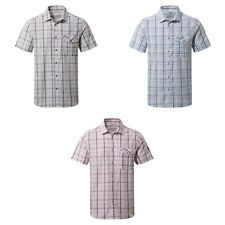 Craghoppers Mens Westlake Checked Short Sleeved Shirt