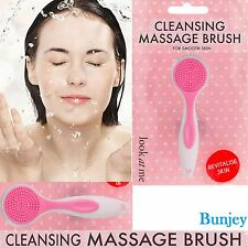 Face Facial Cleansing Brush Spa Smooth Skin Care Massage Exfoliator Deep Clean