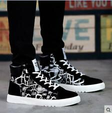Breathe Fashion Canvas Mans Korean High Top Shoes Sneakers Casual Shoes PF159
