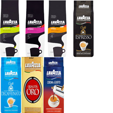 Lavazza Ground coffee Espresso/CremaEGusto/QualitaOro/Vivace/Delicato/Intenso