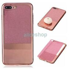 Glossy Bling Sparkle Mirror Glitter Soft Case Cover for iPhone 7 7Plus 6 6S Plus