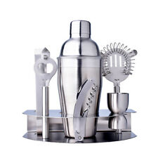 Stainless Steel Cocktail Shaker Mixer Drink Set Bartender Martini Bar Tools