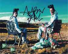 Breaking Bad Cast Signed x2 (Walter & Jesse Pinkman) '001' PP POSTER +Laminated