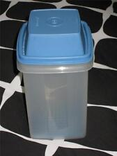 RETRO TUPPERWARE PICK A DEL BEETROOT PICKLES CONTAINER BLUE STRAINER