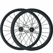 38+50mm Clincher Carbon Wheels Road Bicycle Road Bike Track Fixed Gear Wheelset