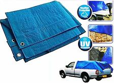 HEAVY DUTY TARPAULIN TARP LIGHTWEIGHT WATERPROOF GROUND COVER SHEET CAMPING TENT