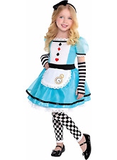 Disney Alice In Wonderland Wonderful Alice Child Costume, NIP