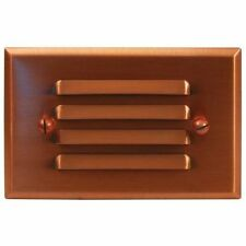 Malibu LED Copper Decklight Half Brick Low Voltage Landscape Lighting 8421-2401