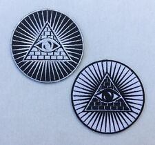 Eye of Providence Symbol All Seeing Eyes of God Embroidered Iron / Sew on Patch