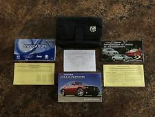 2007 Dodge Charger Owners Manual w/ Navigation Manual & Case - #A