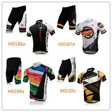INBIKE Outdoor Cycling Bicycle BIKE Comfortable Man Jersey+Shorts Male Clothes