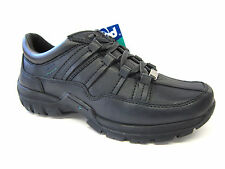 SALE BOYS POD LACE UP FASTENING BLACK LEATHER BACK TO SCHOOL SHOES DRAW