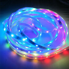 Best price1m 5m Addressable WS2812 RGB led pixel strip 5050 5V 30//60/300leds/m