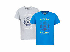 Trespass Scouting Boys Casual Printed T-Shirt Short Sleeve Cotton Top