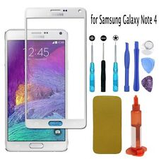 Replacement Outer Front Screen Glass Lens Tools UV Glue for Samsung Galaxy Note4