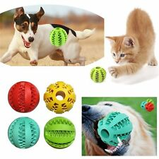 Bite Resistant Playing Dog Training Pet Toy Chew Ball Teeth Cleaning