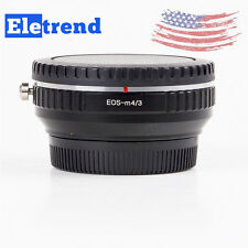 US Camera Speed Booster Focal Reducer For Canon EF EOS Lens to Micro 4/3 m43 GX7