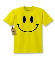 Big Smiley Face Fun Emoji Kids T-shirt