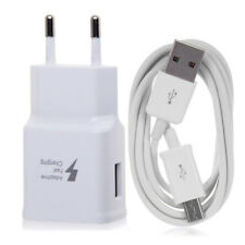 FAST AC Wall Charger Adapter USB Cable For Samsung Galaxy S4 S6 S7 Edge EU Plug