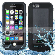Waterproof Rechargeable Battery Case Charger Cover For Apple iPhone 6 6S Plus