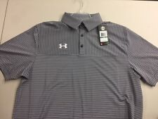 Under Armour Men's Clubhouse Striped Polo Golf Shirt 1270402