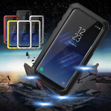 Aluminum Gorilla Glass waterproof Shockproof Metal Case For Samsung Galaxy Phone