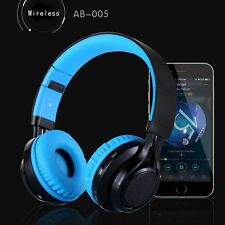 Wireless Headset With LED Headphone Handsfree With Microphone