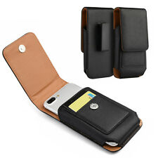 HOLSTER BELT CLIP LEATHER CASE POUCH FOR MOTOROLA MOTO Z PLAY DROID