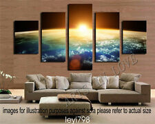HD Print on Canvas Painting Home Decoration Wall Art Earth surface scenery 5pcs