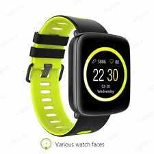 Waterproof Bluetooth Smart Watch Phone Mate Heart Rate For Android iPhone iOS