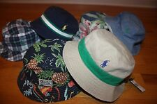 New with Tags Polo Ralph Lauren Reversible Bucket Hat SHIP FREE US FAST