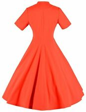 GownTown Womens Vintage 1950s Elegant Cocktail Party Dress Swing Stretchy