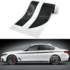 4-Color M Performance Side Skirt Stripe Sticker Body Decal For BMW 5 Series G30