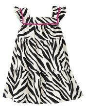 NWT Gymboree  Wild for Zebra Zebra Print Sundres Dress SZ 6 9 12 months Girls