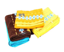 Luxury 100% Cotton Combed Beach Towel Holiday Sun Bath Sheet Very Soft Absorbent